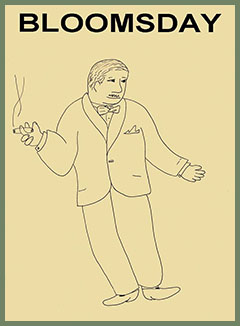 Bloomsday drawing by Alexander Morozov