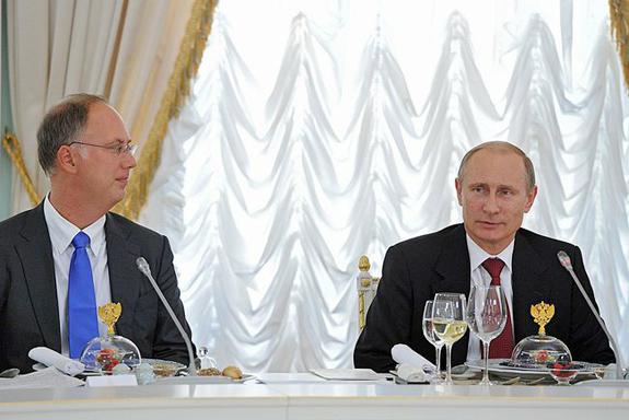 Kremlin Menu Watch
