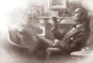 Sherlock-holmes-A-three-pipe-problem