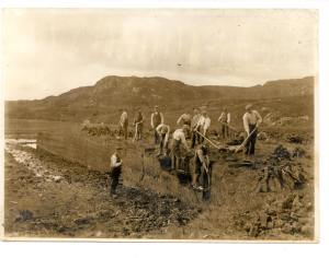 Peat cutting - Carl