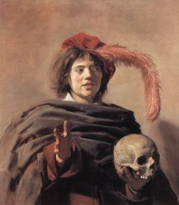 800px-Frans_Hals,_Young_Man_with_a_Skull_(Vanitas)