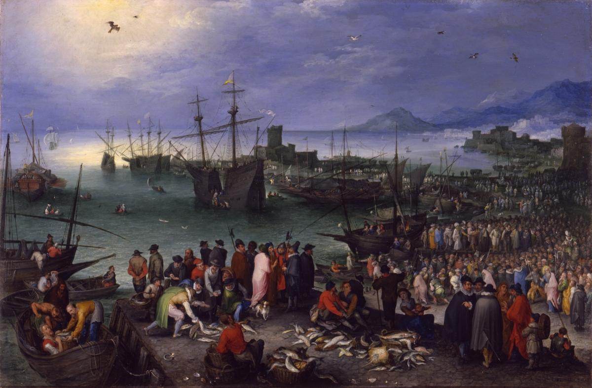 Brueghel, Harbor Scene 52_9_92