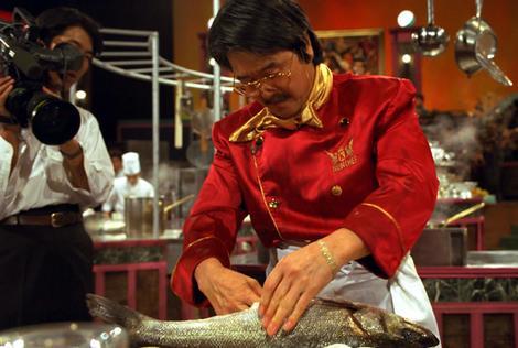 French Iron Chef Hiroyuki Sakai.