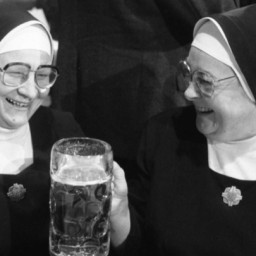 Nuns Brew And Drink Getting Closer To Thee, Though Not Quite Close Enough, And Thoughts on Woman Made in God's Image . . . Or Is That God Made In Woman's Image?