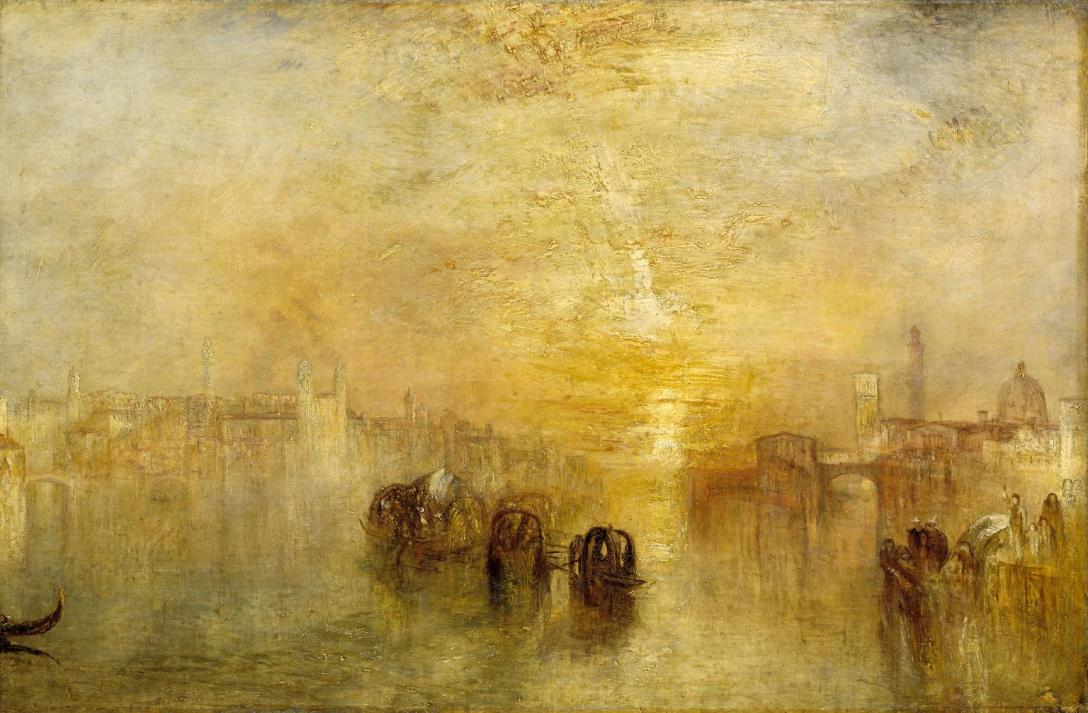 Going to the Ball (San Martino) exhibited 1846 by Joseph Mallord William Turner 1775-1851