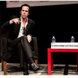 A Conversation With Nick Cave In Stockholm.  Raise Your Red Right Hand!