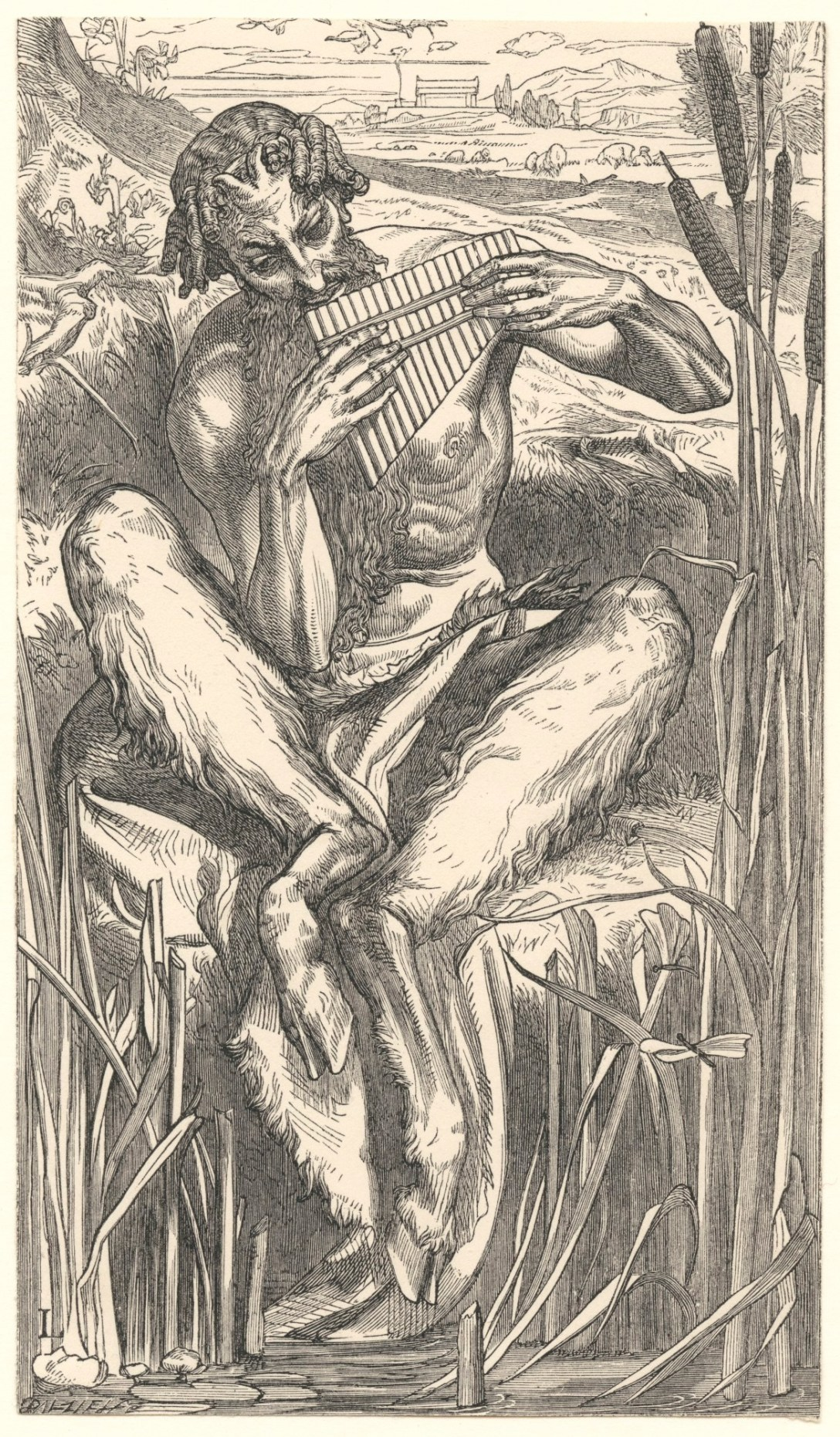Dalziel Brothers; Leighton, Lord; The Great God Pan